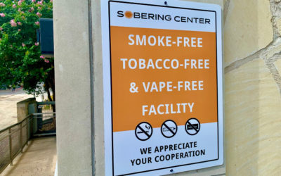 Sobering Center Implements Taking Texas Tobacco Free Program