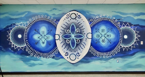 From Blank Walls to Colorful Mandalas: the Sobering Center brings Art to the Sobering Floor